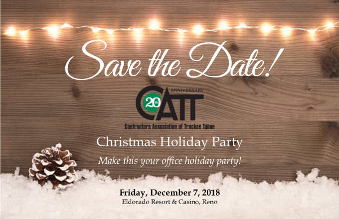 Christmas Save The Date Graphics.Catt Christmas Holiday Party Contractors Association Of